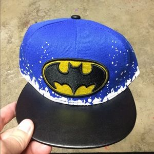 Other - NEW Kids Batman SnapBack Hat